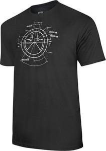 Czarny t-shirt Magpul z bawełny z krótkim rękawem