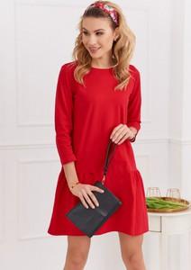 Sukienka Fasardi z długim rękawem oversize