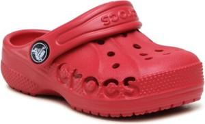 Czerwone buty dziecięce letnie Crocs
