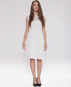 Sukienka 4myself midi z okrągłym dekoltem