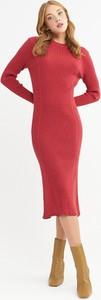 Sukienka BGN z długim rękawem