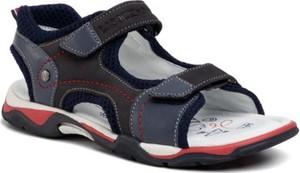 Granatowe buty dziecięce letnie Lasocki Young