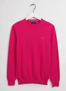 Sweter Gant z okrągłym dekoltem w stylu casual