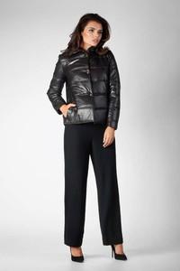 Czarna kurtka Nommo krótka w stylu casual