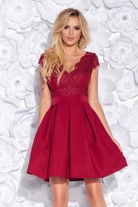 Sukienka Bicotone z tiulu bez rękawów mini