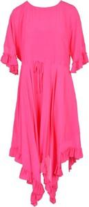 Sukienka Twinset mini w stylu casual z okrągłym dekoltem