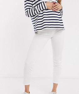 Gebe Maternity GeBe – Miękkie dopasowane jeansy dla kobiet w ciąży-Biały
