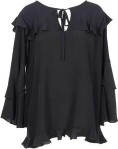 Czarna bluzka Moschino z długim rękawem
