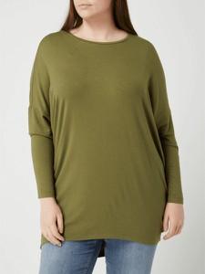 Zielona bluzka Only z okrągłym dekoltem