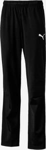 Czarne spodnie dziecięce Puma dla chłopców