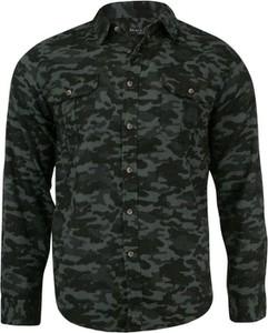 Koszula Brave Soul z klasycznym kołnierzykiem z bawełny w militarnym stylu