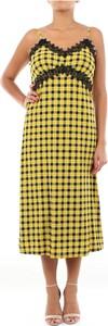 Żółta sukienka Michael Kors