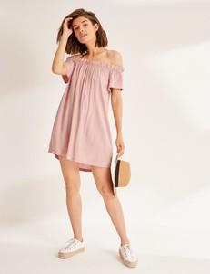 Różowa sukienka Diverse mini