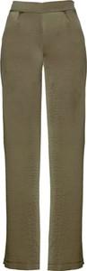 Bonprix bpc selection premium szerokie spodnie satynowe z rozcięciami