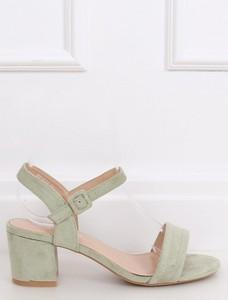 Sandały Buty Damskie ze skóry ekologicznej