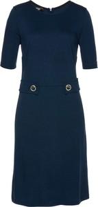 Niebieska sukienka bonprix bpc selection premium