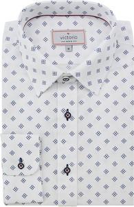 Koszula Victorio z długim rękawem z bawełny w młodzieżowym stylu
