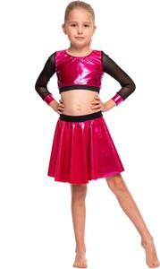 Czerwona spódniczka dziewczęca Rennwear