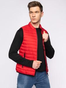 Czerwona kamizelka Trussardi Jeans