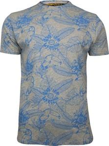 T-shirt Brave Soul w młodzieżowym stylu z krótkim rękawem z nadrukiem