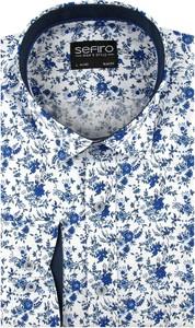 Koszula Sefiro z długim rękawem z tkaniny w młodzieżowym stylu