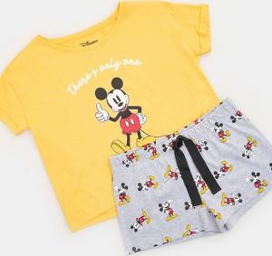 Żółta piżama Sinsay