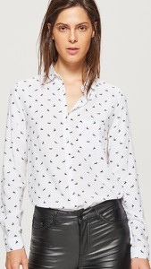 Koszula Cropp z długim rękawem w młodzieżowym stylu