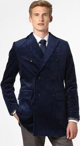 Płaszcz męski Finshley & Harding ze sztruksu