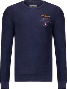 Sweter Aeronautica Militare z dzianiny