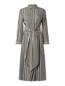 Sukienka Hugo Boss z bawełny w stylu casual koszulowa