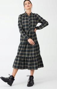 Sukienka V by Very z długim rękawem koszulowa w stylu casual