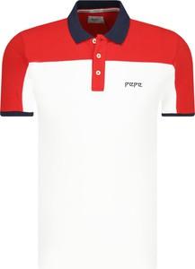 Koszulka polo Pepe Jeans w młodzieżowym stylu z krótkim rękawem