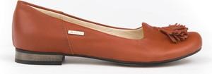 Baleriny Zapato z nubuku w stylu klasycznym