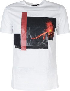 T-shirt ubierzsie.com z krótkim rękawem z bawełny