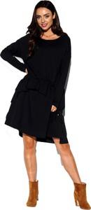 Sukienka Lemoniade prosta z bawełny z długim rękawem
