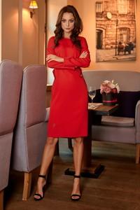 Czerwona sukienka Lemoniade midi