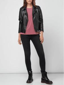 Różowa bluzka Vero Moda z okrągłym dekoltem