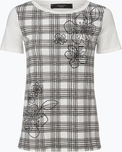 T-shirt Weekend Max Mara w stylu casual z okrągłym dekoltem
