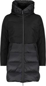 Czarny płaszcz Gil Bret z kapturem