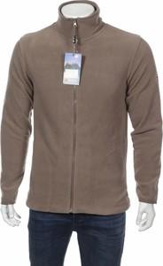 Brązowa bluza Scott z plaru