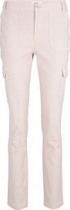 Różowe spodnie Heine