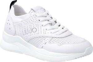Sneakersy Liu-Jo sznurowane na platformie