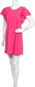 Sukienka A New Day mini z okrągłym dekoltem z krótkim rękawem