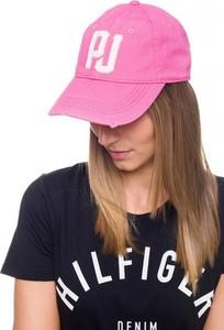 Różowa czapka Pepe Jeans