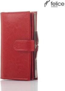 Czerwony portfel Felice