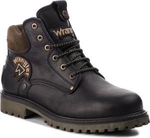 Buty zimowe Wrangler sznurowane w militarnym stylu