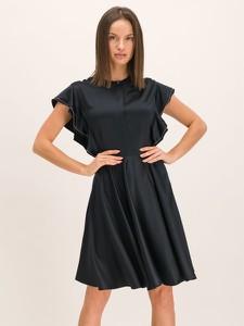 Sukienka Guess z okrągłym dekoltem z krótkim rękawem