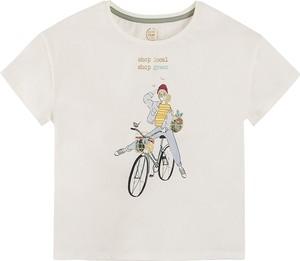 Koszulka dziecięca Cool Club dla dziewczynek z krótkim rękawem