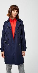 Niebieski płaszcz Moodo