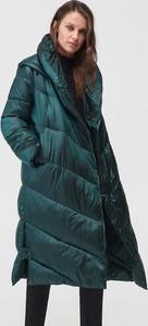 Zielony płaszcz Mohito